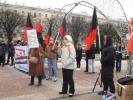 """На акции """"За достойную медицину"""" в Петербурге предлагали северокорейскую модель здравоохранения: Фоторепортаж"""