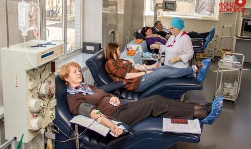 Сдать кровь в новогодние каникулы можно в 5 учреждениях Петербурга