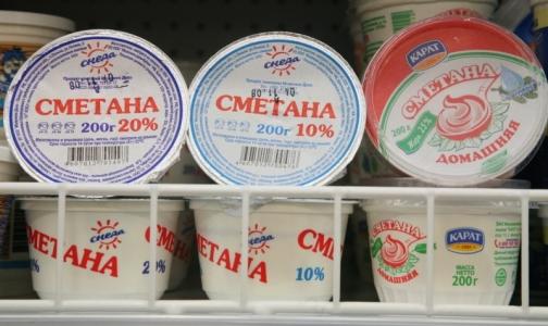 В петербургских магазинах обнаружили фальсифицированную сметану