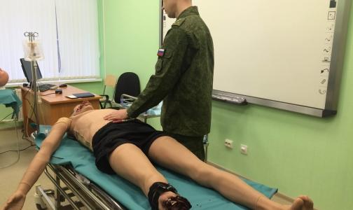 В Военно-медицинской академии учатся спасать раненых роботов