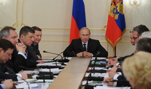 Путин запретил своим министрам ходить на работу с гриппом