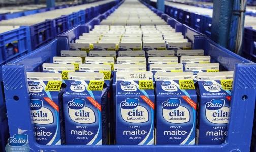 Безлактозное молоко Valio вернулось в магазины Петербурга