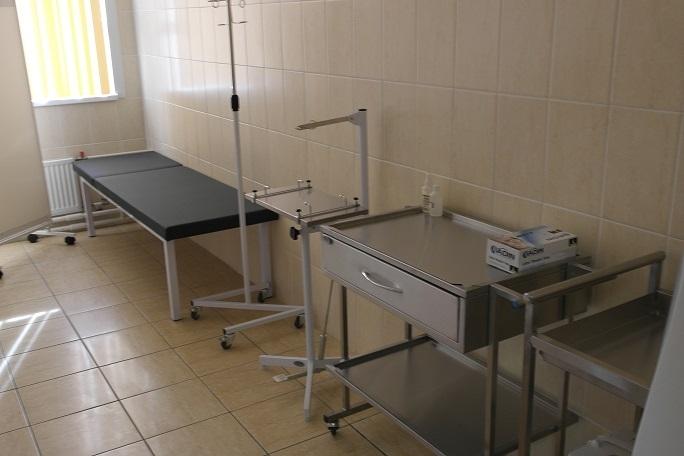 В Красногвардейском районе достроили новую подстанцию скорой помощи