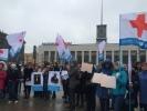Петербургские врачи на митинге: Мы тоже люди: Фоторепортаж