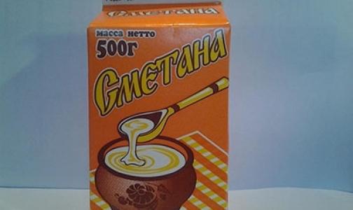 Петербургский универсам оштрафовали за продажу поддельной сметаны