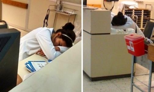 Российские врачи «тоже могут заснуть»