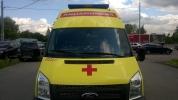 Из реанимобиля скорой помощи преступники украли рации: Фоторепортаж