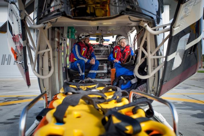 Над КАДом перестали летать вертолеты, спасающие пострадавших