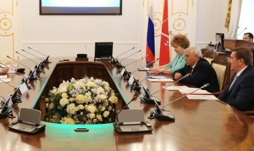Полтавченко советует Георгиевской больнице воспитывать персонал