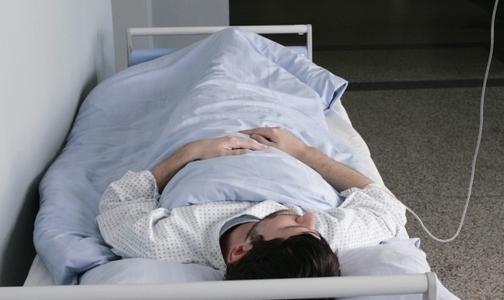 Петербуржец попал в больницу, прогулявшись по сухому льду