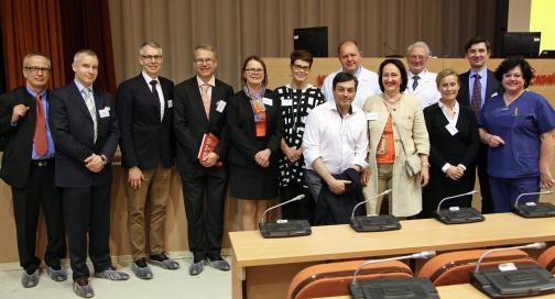 Университетская больница Хельсинки приехала в Петербург