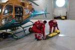 Фоторепортаж: «Почему в городские больницы вертолеты не летают»