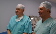 Лео Бокерия прооперировал ребенка в Педиатрическом университете