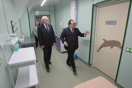 В Петербурге открылся детский травматологический центр