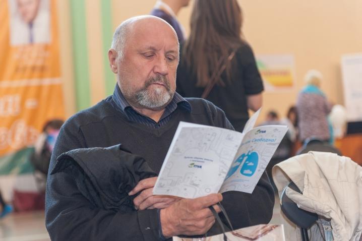 На акции «Дыши свободно» обследовались более 400 петербуржцев