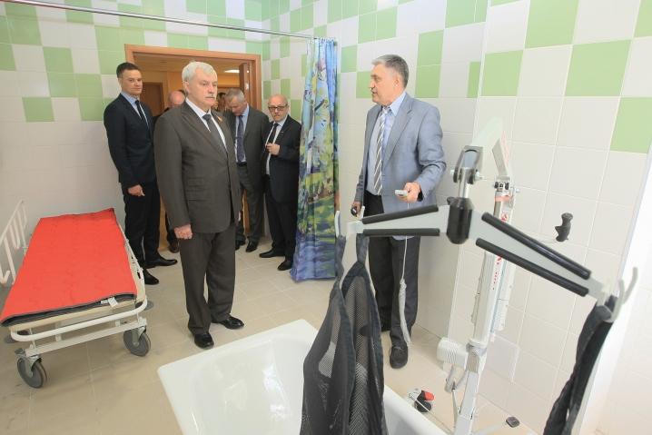 В Петербурге открывается «отделение милосердия» для инвалидов после инсульта