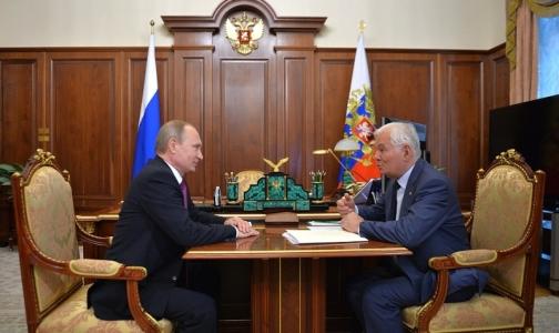 Путин обсудил с Рошалем саморегулирование работы врачей