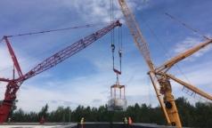 100-тонный циклотрон установили в Центре протонной терапии в Петербурге