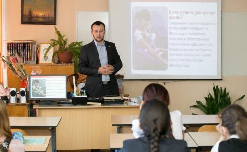 В следующем году в школах Петербурга начнутся донорские уроки