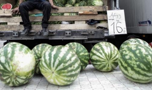 ОНФ обнаружил антисанитарные условия при продаже арбузов в Петербурге