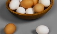 В петербургских яйцах искали сальмонеллу и полезные для здоровья каротиноиды