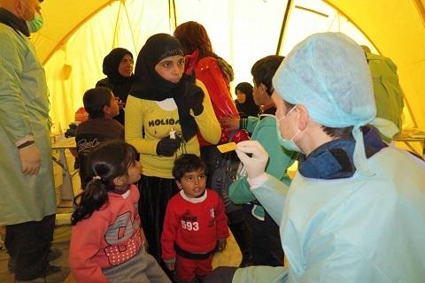 ВОЗ поблагодарила российских врачей за работу в Сирии
