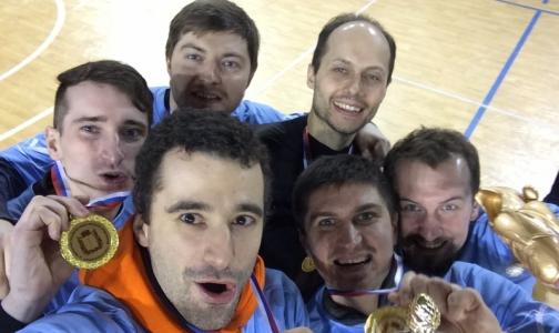 Петербургские врачи начали 2017 год с победы в российском чемпионате по мини-футболу