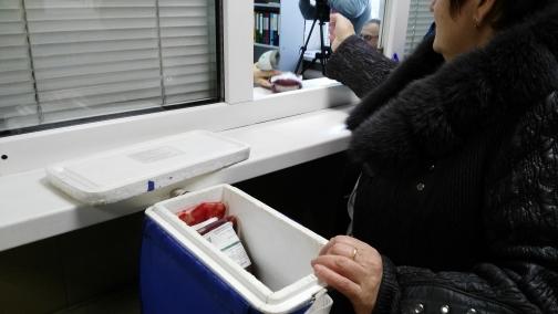 Экскурсия по станции переливания крови: территория безопасности
