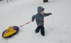 В ОП РФ просят защитить детей от смертельных катаний на «ватрушках»