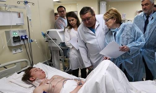 Неопознанные пострадавшие в теракте пришли в сознание в больницах Петербурга
