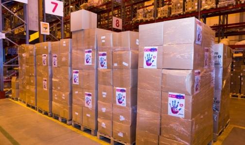 1,7 тонны подгузников подарили фонду AdVita для онкобольных