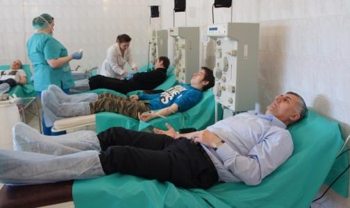 Петербургские мусульмане сдали кровь в знак протеста против терроризма