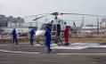 В Александровскую больницу доставили первого пациента на вертолете