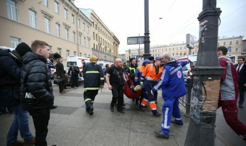 В клиники Петербурга были привезены 43 раненых при взрыве вметро