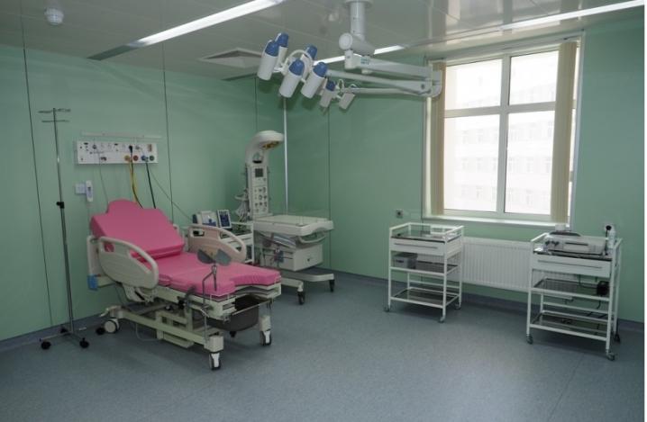 В акушерском отделении новой Боткинской больницы родились уже четверо детей