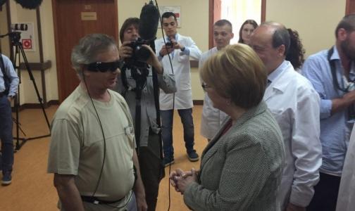 Глава Минздрава рассказала, как видит мир пациент с бионическим глазом