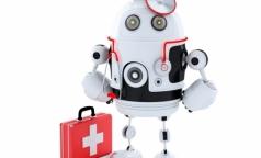 Российские ученые разработают робота-врача для военных