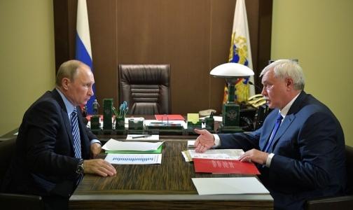 Путин в октябре откроет Центр протонной терапии в Петербурге