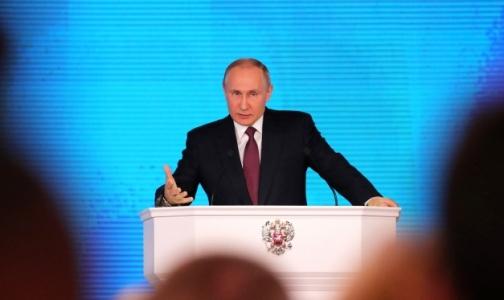 Владимир Путин: Низкая рождаемость угрожает экономике страны