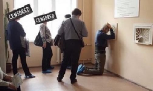Пациентов воронежской поликлиники «поднимут с колен» после огласки в соцсетях