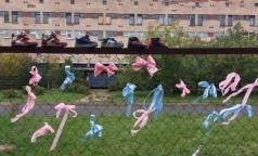 Жители Калининского района организовали флешмоб с требованием построить роддом
