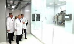 В Петербурге открыли завод по производству субстанции инсулина