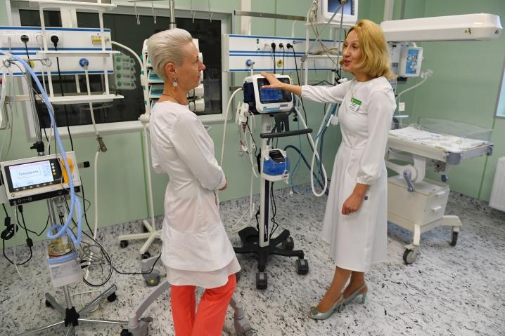В Гатчине открыли перинатальный центр