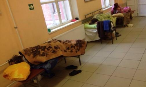 После опубликования в СМИ фото лежащего на полу пациента Покровскую больницу проверит прокуратура