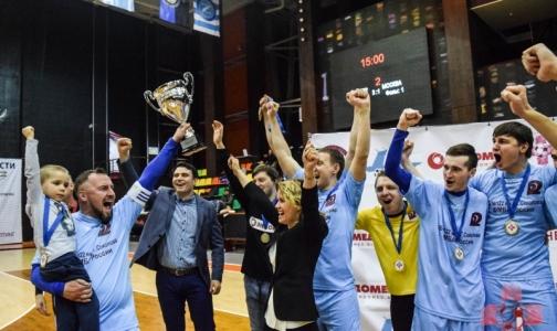 Петербургские врачи стали двукратными чемпионами России по мини-футболу