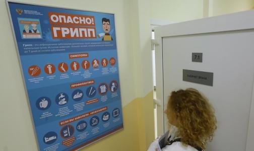 Петербург достиг эпидпорога по гриппу и ОРВИ. В соседней Карелии он уже превышен