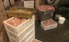 В Петербурге на 1,5 месяца «прикрыли» фирму по производству мяса с антибиотиком и бактериями