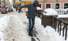 В Петербурге за сутки 88 пострадавших из-за гололеда вызывали «Скорую»
