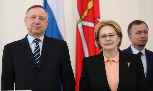 Александр Беглов — главе Минздрава: Денег не хватает, но просить не будем