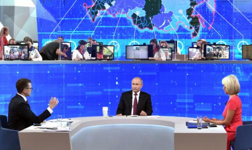 Прямая линия: В регионах жалуются на нехватку кадров, Путин обещает поднять зарплаты